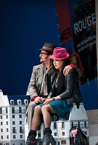 Salzburger Festspiele 2012 – Piotr Beczała jako Rudolfo i Anna Netrebko jako Mimì w Cyganerii, aut. Luigi Caputo, CC BY 3.0